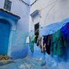 青の街シェフシャウエンの夜と朝(2018年モロッコ #4)
