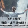 32歳 高卒 会社員 1年で資産1000万円を目指す!(21年5月5週目)