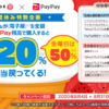PayPayで電子書籍購入で最大50%還元!ebookjapanで8月限定キャンペーン【本日最大50%】