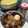 ●マルちゃん正麺で広島風つけ麺......ポケモンGO開放!