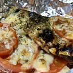 トマトとサバのチーズ焼き ~ワインのお供にどうぞ!《オトコ飯》