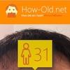 今日の顔年齢測定 223日目