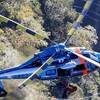 救助影像!長野県北アルプス北鎌尾根槍ケ岳の落石で遭難3人救助残り3人は自力で下山へ