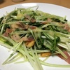 シャキシャキ水菜!!