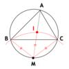 AtCoder AGC 039 D - Incenters (赤色, 1000 点)
