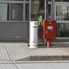 高徳線勝瑞駅の白ポスト