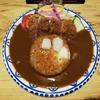 【松本・中町通りランチ】おしゃれカフェ風な『松本くろ門』でカツカレー!本格的にスパイシーだけど食べやすいぞ!