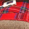 冬支度で電気ひざ掛け毛布を出してきた。タイマーとセットで使用してる。電気代も安いしおすすめ
