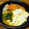 今日の食べ物 夜食に豚キムチ鍋