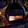 トゥクトゥクピザの次は、ドラム缶ピザ!!