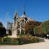 ノートルダムの上で At the top of Notre-Dame