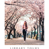 ポスター「留学生向け図書館ツアー」