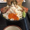毛ガニ特盛丼