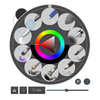 Krita 4.0.0: タブレットだけでも操作がやりやすくなりました!ポップアップメニュー&Touch Docker