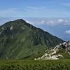 中央アルプスの三ノ沢岳(2847m)へ行ってきました