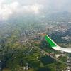 エバー航空 BR196(台北→成田)A321 1泊2日台湾出張3レグ目