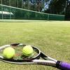 はじめてのお外テニス