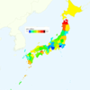 Rate of Deaths from Diabetes by Prefecture in Japan, 2015