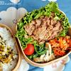 #429 豚細切れ肉の生姜醤油煮弁当