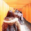 伏見稲荷から京都和久傳でランチ!知恩院から八坂神社へ京都満喫2017年3月夫婦デート。