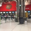 #02 空港で大混乱。