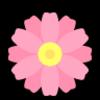 フェミニンなピンク&パープルの春色フラワーネイル