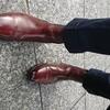 秋が近づいたらスーツにブーツを合わせてみて!!
