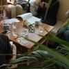 MOMAさんでのニットカフェ、終了しました&五月の予定!