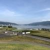 【諏訪湖】赤砂崎公園がリニューアル【下諏訪町の公園】