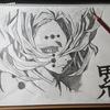 YouTube【ソルブラアート】で累(ルイ)くん描いてみました