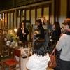 焼津市のオシャレカフェで開催したワークショップ婚活!!ステンドグラス月のオーナメントを作りました♪