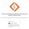 SourceForgeが落ちてる(追記有)