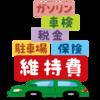 今年の車検代は約15万円でした