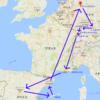 【ヨーロッパ旅行】ドイツ・フランス・スペイン11都市18日間の交通費と宿情報