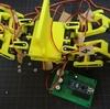 3Dプリンターでロボット作ってみる 多脚ロボット編18