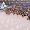 スワンナプーム国際で空港泊してきたよ