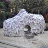 京都・安井金毘羅宮にて、縁を切ったりつないだり
