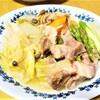 さむ~い冬にぴったりな作り置き!『たっぷり野菜と豚肩ロースの塩煮』