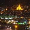 【ジョージア】トビリシ旧市街の夜景と絶品ヒンカリ【ナリカラ砦】