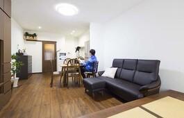 耐震と断熱にこだわり、老後の将来を見据えた家