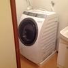 洗濯機を買い換えました