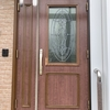 玄関ドアの塗直し