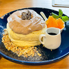 【鶴来】カフェ「たまごのゆめ」のお野菜たっぷりランチとふわふわパンケーキ