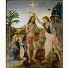 ダヴィンチ「キリストの洗礼」 児童虐待と食人