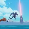 姿はほとんど見えない海底遺跡の大型シースライム【PixARK 千円ポッキリの冒険 その16】
