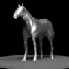 【Blender #3】スカルプト機能を使って馬をモデリングしてみた