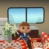 【どうぶつの森】キャンピングカーを本気出してカスタマイズしてみた!書斎で情熱大陸ごっこもしてみたよ!