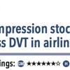 ACPJC:Therapeutics 飛行機旅行中の乗客では弾性ストッキングが症候性DVTを減らす
