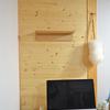 無印良品「壁につけられる家具」の棚を木の壁にDIYでつけてみた