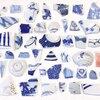 漂流物: シー陶器。江の島の海岸は春の陶器祭り開催してました!